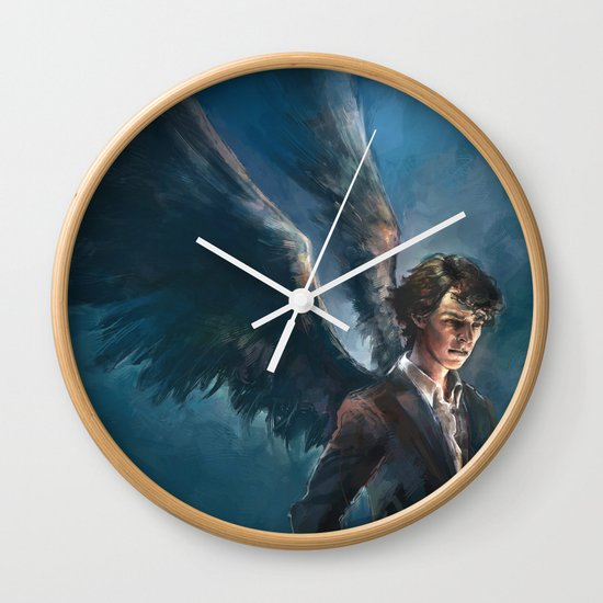 A City on the Head of a Pin Wall Clock