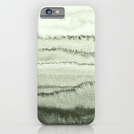 WITHIN THE TIDES - SAGE GREEN by MS  iPhone Case