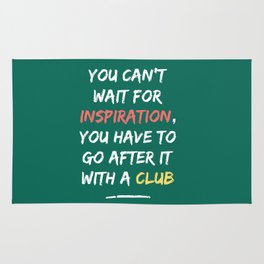 Go After Inspiration With A Club Rug