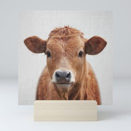 Cow 2 - Colorful Mini Art Print
