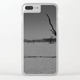Namibia's landscape Clear iPhone Case