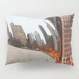 Chicago Bean - Big City Lights Pillow Sham