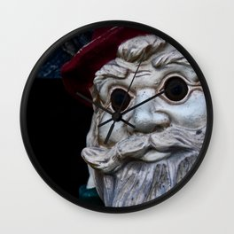 Cold Dead Eyes Wall Clock