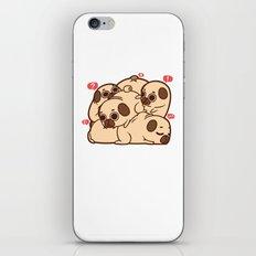 Puglie Grumblie iPhone & iPod Skin