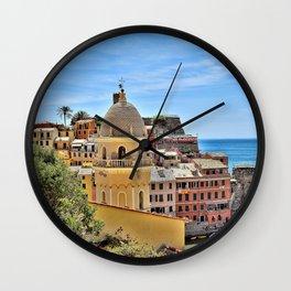 Cinque Terre Gem Wall Clock