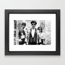 Ferris Bueller's Day Off Movie - Funny Poster Print - ChezLuis 80's Comedy Framed Art Print