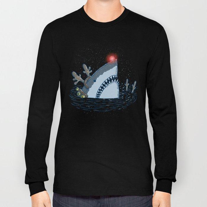 Rudolph Shark Long Sleeve T-shirt