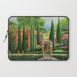 Villa of Lago d' Como Laptop Sleeve