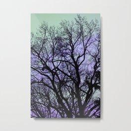 Tree Hues Metal Print