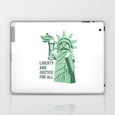 Liberty and Justice Laptop & iPad Skin