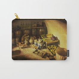 Harvest in the cellar of the farm Carry-All Pouch
