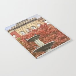 New York City Autumn Leaves and Architecture Notebook