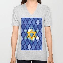 Jewish Celebration Unisex V-Neck