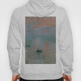 Claude Monet - Impression, Sunrise Hoody