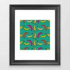 Tropic Banana Framed Art Print