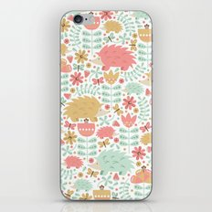 Spring Hedgehog Forest iPhone & iPod Skin