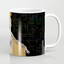"Art Deco Illustration ""Oriental Gown"" Coffee Mug"
