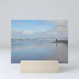 Bluer Than Blue - California Coast Mini Art Print