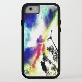 The Bright Light of the Future iPhone Case