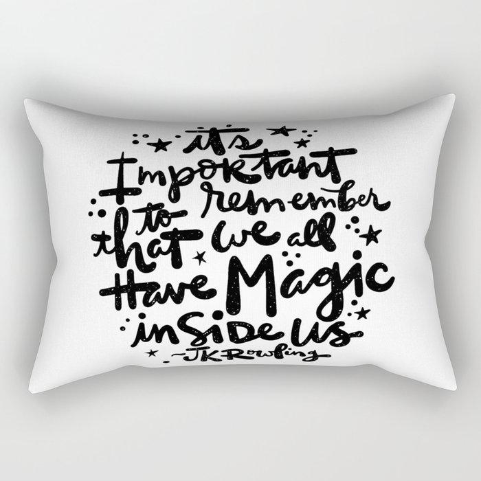 Magic Inside Rectangular Pillow
