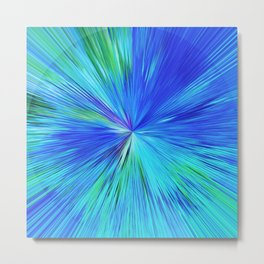 347 - Abstract colour design Metal Print