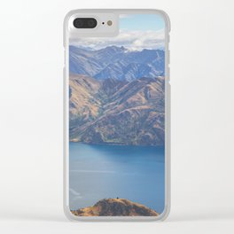 Roys Peak Lookout 1 Clear iPhone Case