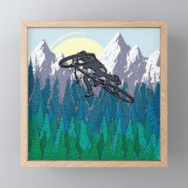 Ride Framed Mini Art Print