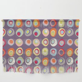 Atomic Circles | Mid Century Modern Style Wall Hanging