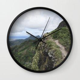 The Pali (2) Wall Clock