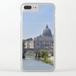 The Tiber River Clear iPhone Case