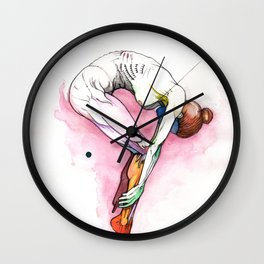 The Question, Ballet nude anatomy, NYC artist Wall Clock