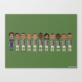 Juventus 2013 Canvas Print