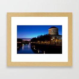 Four Courts Dublin Framed Art Print