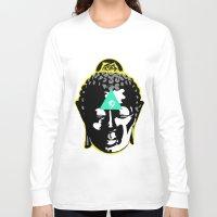 buddah Long Sleeve T-shirts featuring Buddah by New Ill