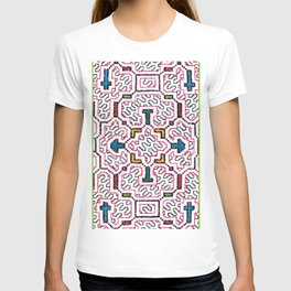 Physical Healing Icaro - Traditional Shipibo Art - Indigenous Ayahuasca Patterns T-shirt