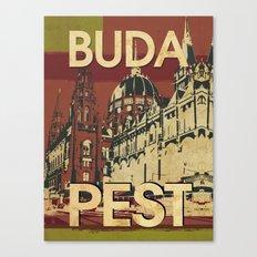 BUDA & PEST Canvas Print