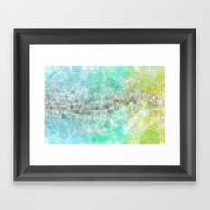 Inspired. Framed Art Print