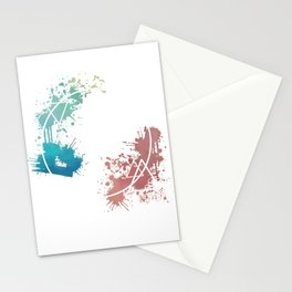 Spring Circle Stationery Cards