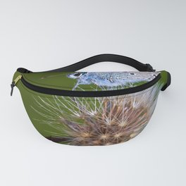 The butterfly and the delicate plant Fanny Pack