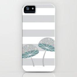 Romantic mushrooms iPhone Case