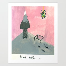 time out Art Print
