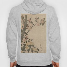 Hokusai, flowers of a cherry-tree- manga, japan,hokusai,japanese,北斎,ミュージシャン Hoody