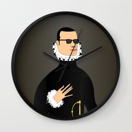 The Knight in the Hand on the Chest Wall Clock