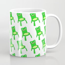 everybody loves froggy chair pattern  Coffee Mug