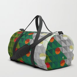 082 - Christmas tree holiday pattern I Duffle Bag