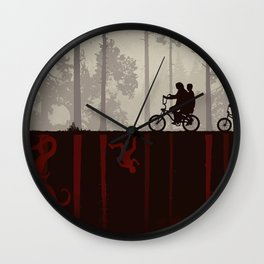 Darkwood Strange Things Wall Clock