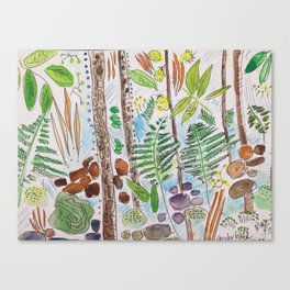 Woodland Life Canvas Print