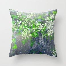 FlowerPower Fantasy 9-A Throw Pillow