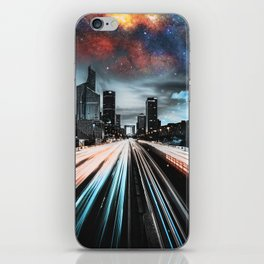Lights and Stars iPhone Skin