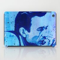 johnny cash iPad Cases featuring Johnny Cash by Jason Hughes